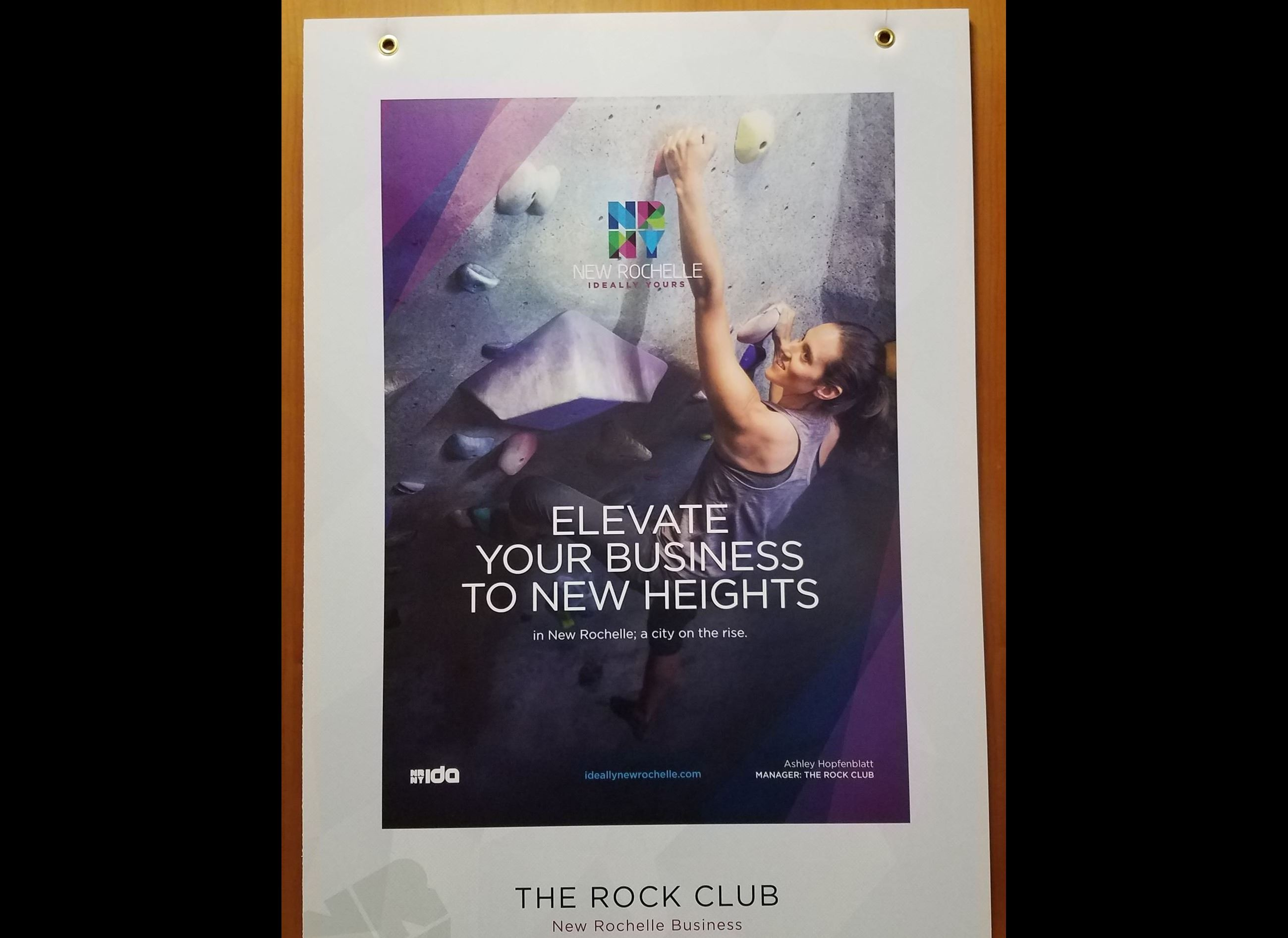 The Rock Club Poster