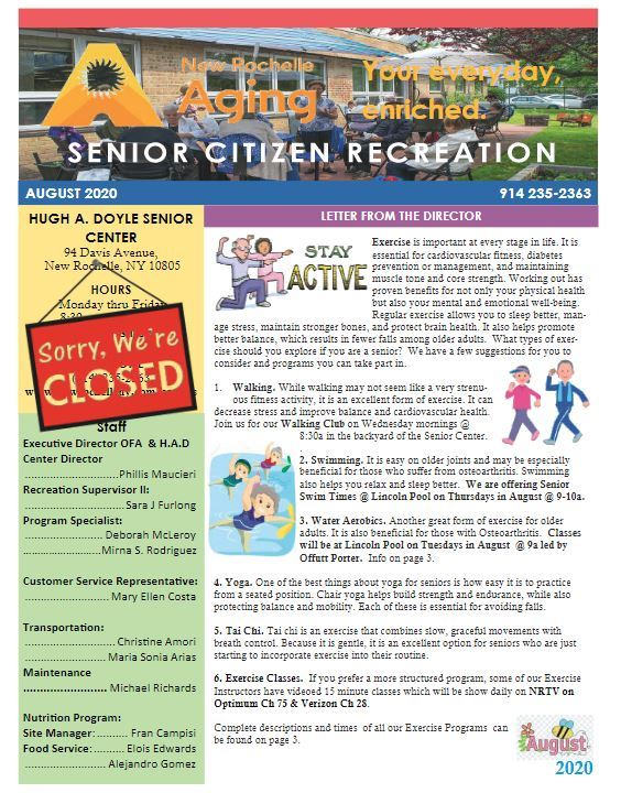 Senior_AugustNewsletter