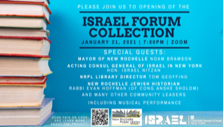 Israel Forum Collection at New Rochelle Public Library