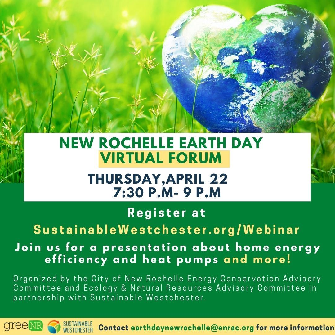 New Rochelle Earth Day Virtual Forum_Digital