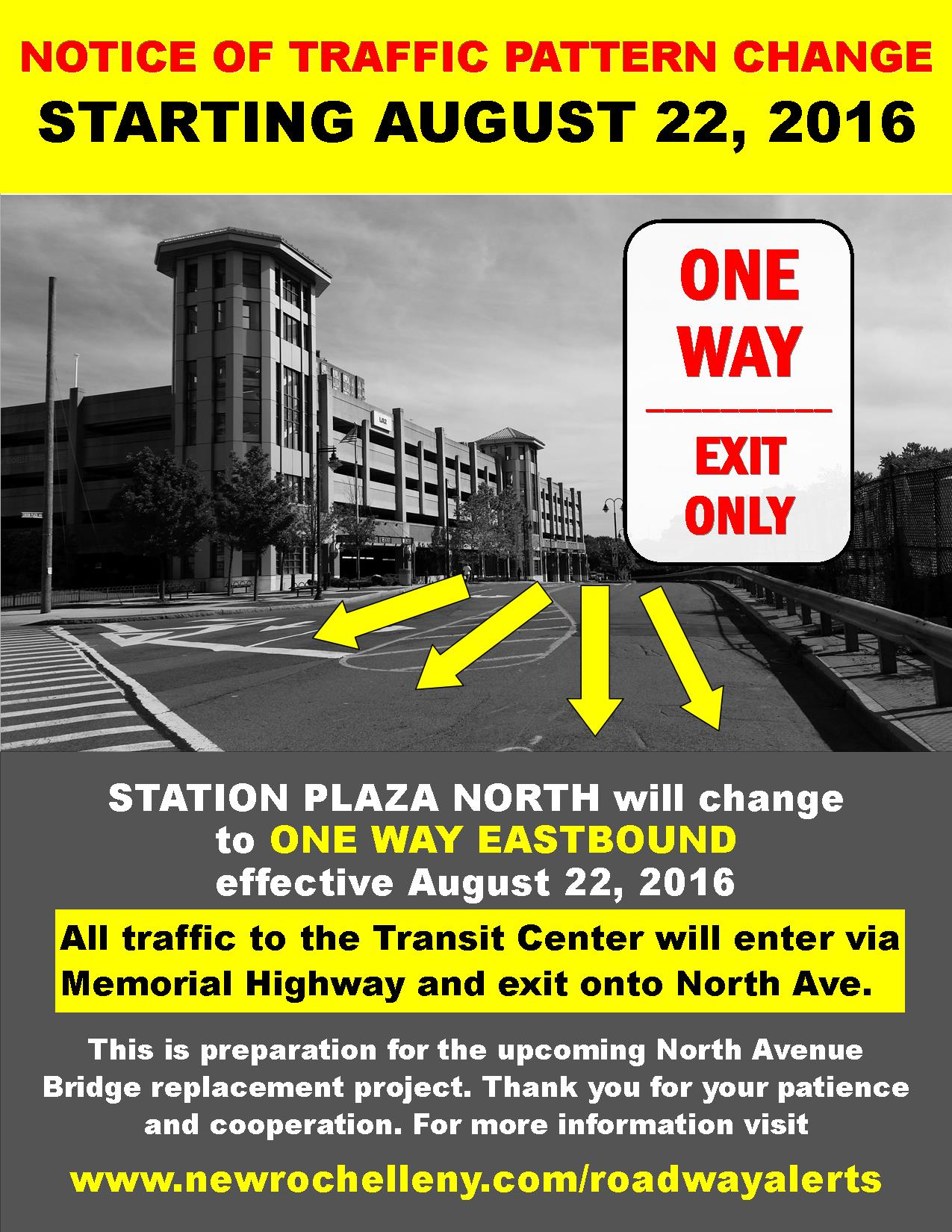 Station Plaza North poster August22