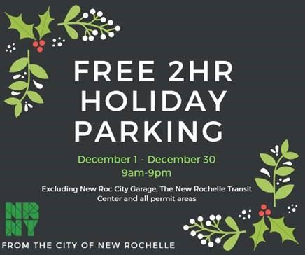Free 2HRHoliday Parking