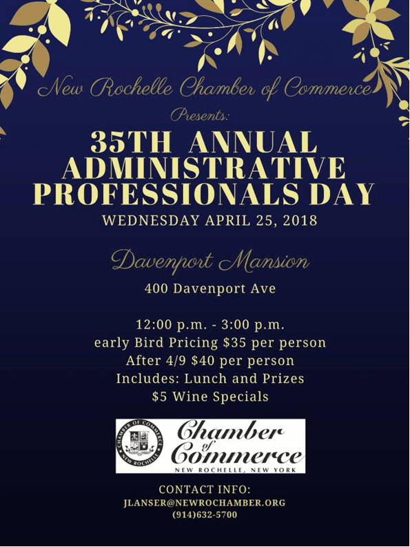 35TH ANNUAL ADMINISTRATIVE PROFESSIONALS DAY