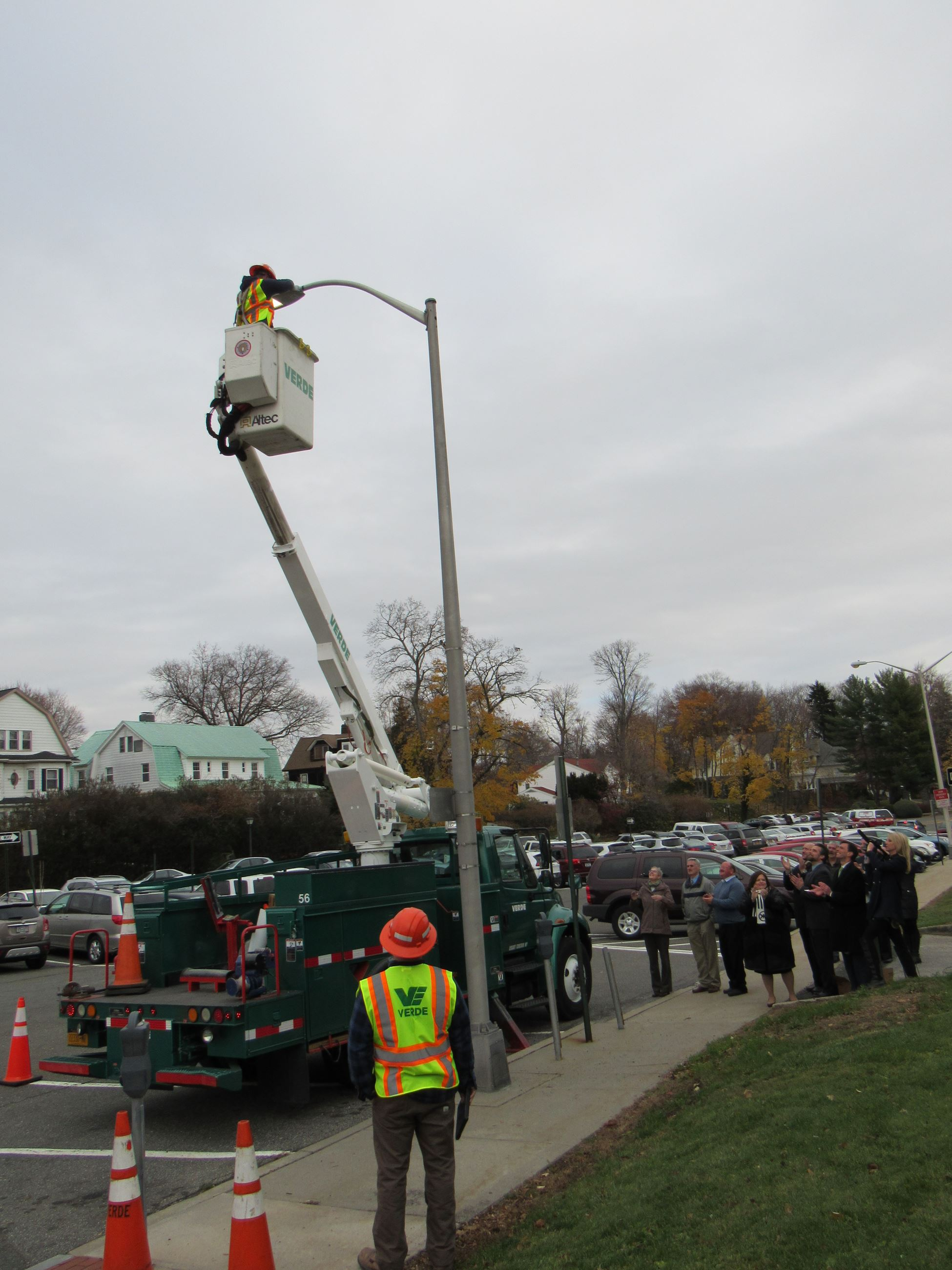 LED Streetlight Replacement Event