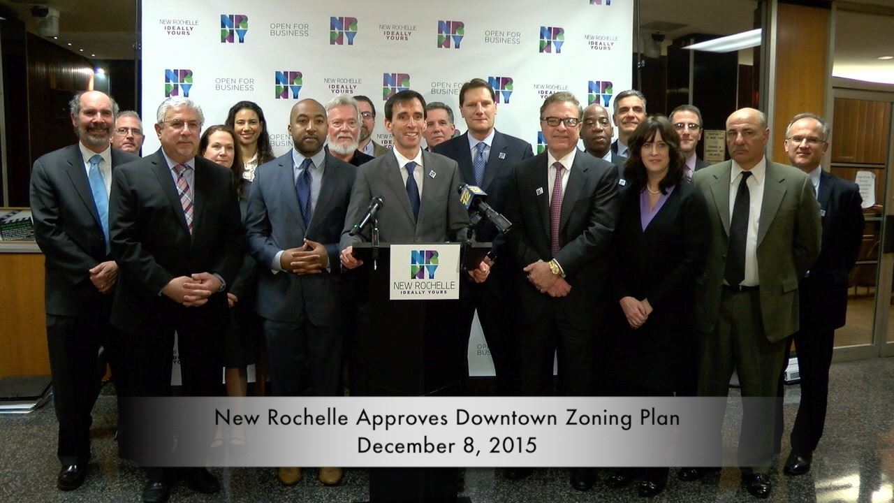 New Rochelle approves Downtown Zoning Plan