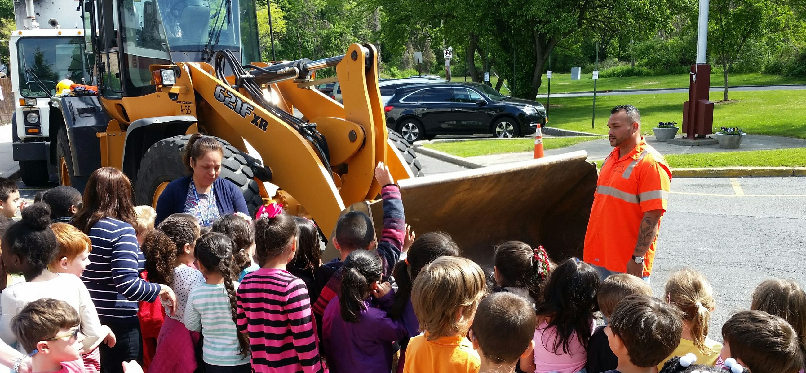 2016 DPW Truck Day at Ward Elementary School